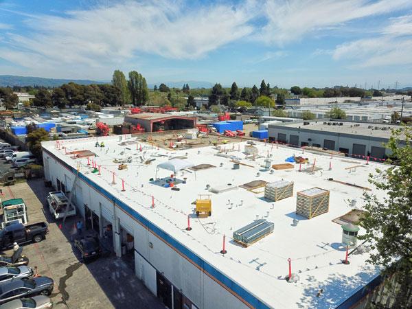 industrial roofing repair east bay