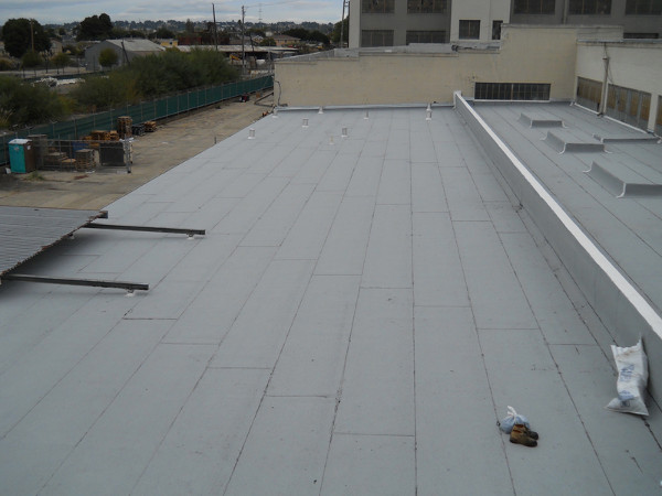 Quot Cool Roof Quot Sbs Modified Bitumen Industrial Roofing Ben