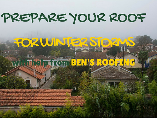 Bay Area Roofing Contractors Say Prepare for Heavy Winter Storms